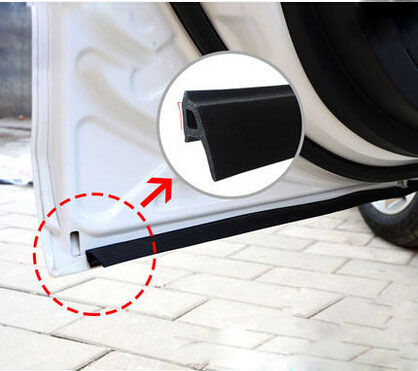 P Type 3M EPDM Waterproof Rubber Anti-dust Sealing Strips Trim For Auto Car Door : door waterproofing - Pezcame.Com