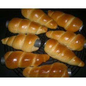 5 Teile/satz Küche Edelstahl Backen Kegel Horn Gebäck Roll Kuchen Form Gebäck Creme Horn Kuchen Brot Mold Cookie Dessert werkzeug