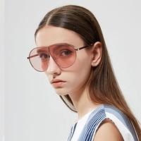 16da59336c9 JackJad 2017 Fashion Women Shield Style Oversized Sunglasses Cool Brand  Design Tint Ocean Lens Sun Glasses