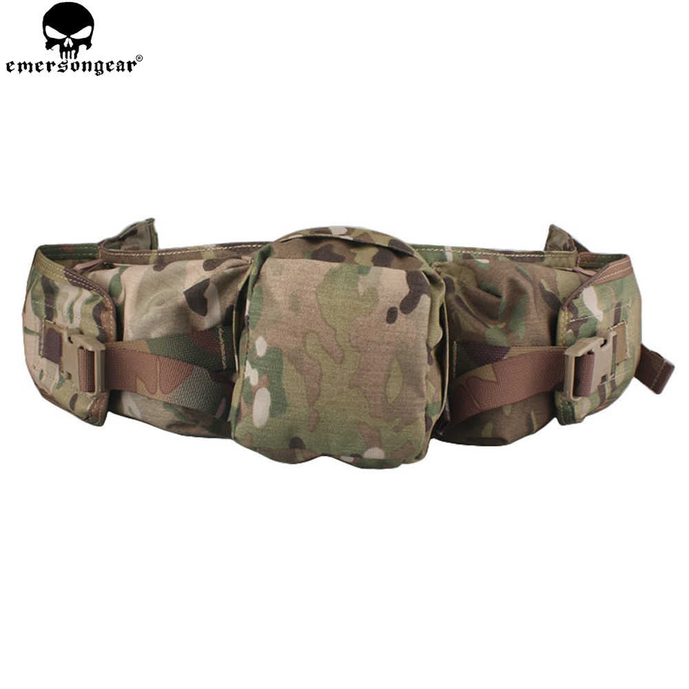 EMERSONGEAR Tactical Waist Pack Bag Hunting Sniper Waist Pack For Airsoft Paintball Equipment Outdoor CS Game EM5750 goggles full face masks neck mesh protective outdoors cs war game airsoft paintball field sport equipment tactical masks