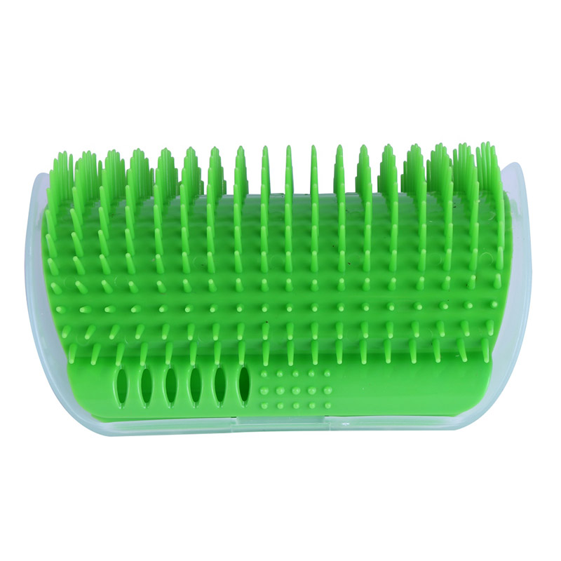 Products For Cat Supplies Pets Catnip Comb Cat Corner Brush Massage Machine Plastic Carding Toy Jp -20%