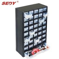 New 41 Drawers Storage Cabinet Tool Box Chest Case Plastic Organizer Toolbox Bin
