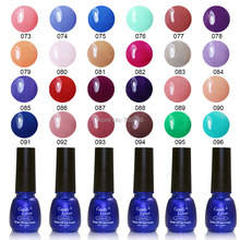 Hot-selling Cirstina 240 Fashion Colors UV Gel Polish 8ML Shellac Nail Gel 1 pcs Free Shipping 55%OFF