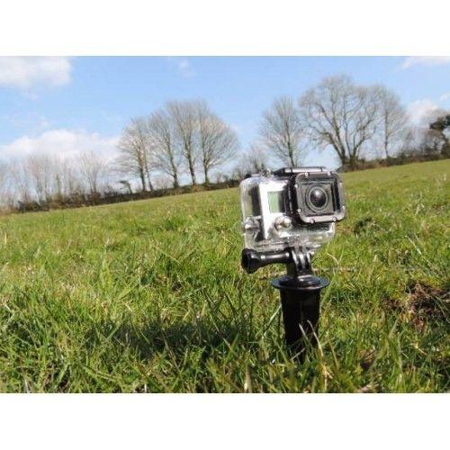 אלומיניום ספייק הר & יד אחיזה חצובה - מצלמה ותצלום