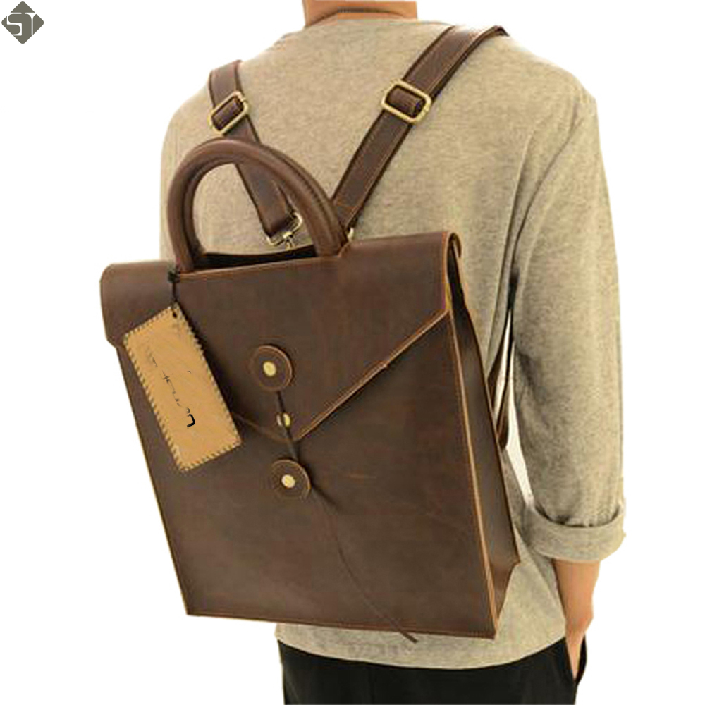 Young fashion new 2017 leather men bag casual male student backpack men backpacks men's travel bags school backpacks for women 2017 new masked rider laptop backpack bags cosplay animg kamen rider shoulders school student bag travel men and women backpacks