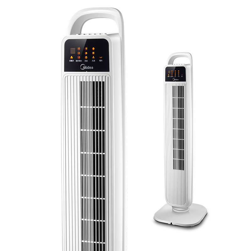 LK1606 Mobile App/Remote Control Mute Tower Fan Home Bladeless Reservation Timed Fan Cooling Portable Air Conditioner 40W цена 2017