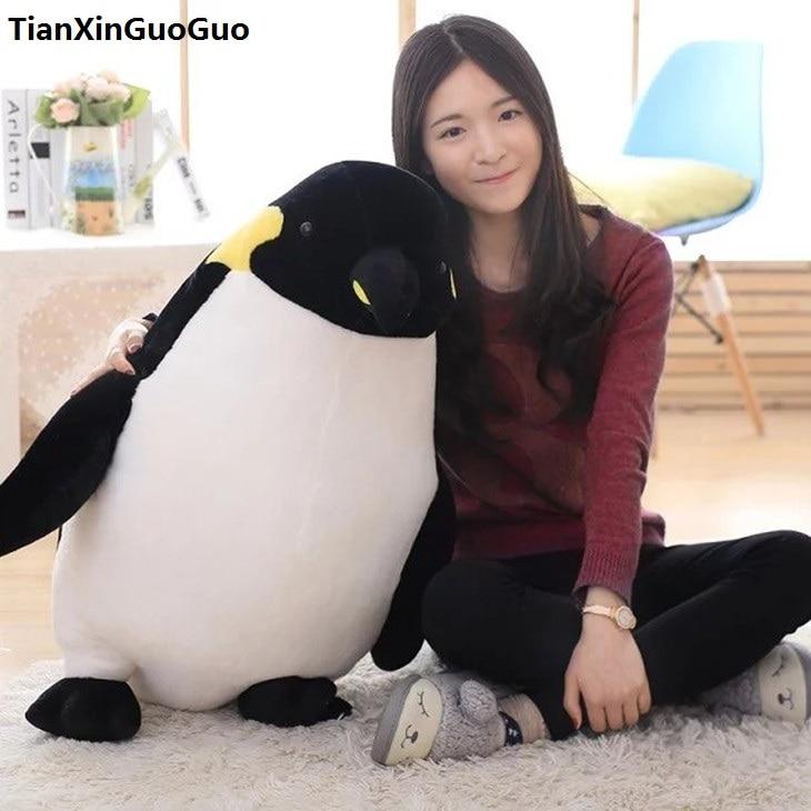 fillings plush toy large 80cm lovely cartoon penguin plush toy penguin soft doll hugging pillow birthday gift s0583