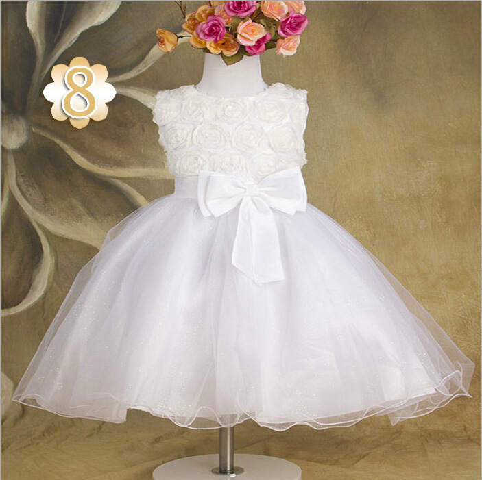 2016 Hot Sale Children Kid Girls One Piece pumpon Dress Stars Sequins Tulle Bow Dress Tutu Dresses For Baby Girl cheap Clothing hot sale halter beading sequins short homecoming dress