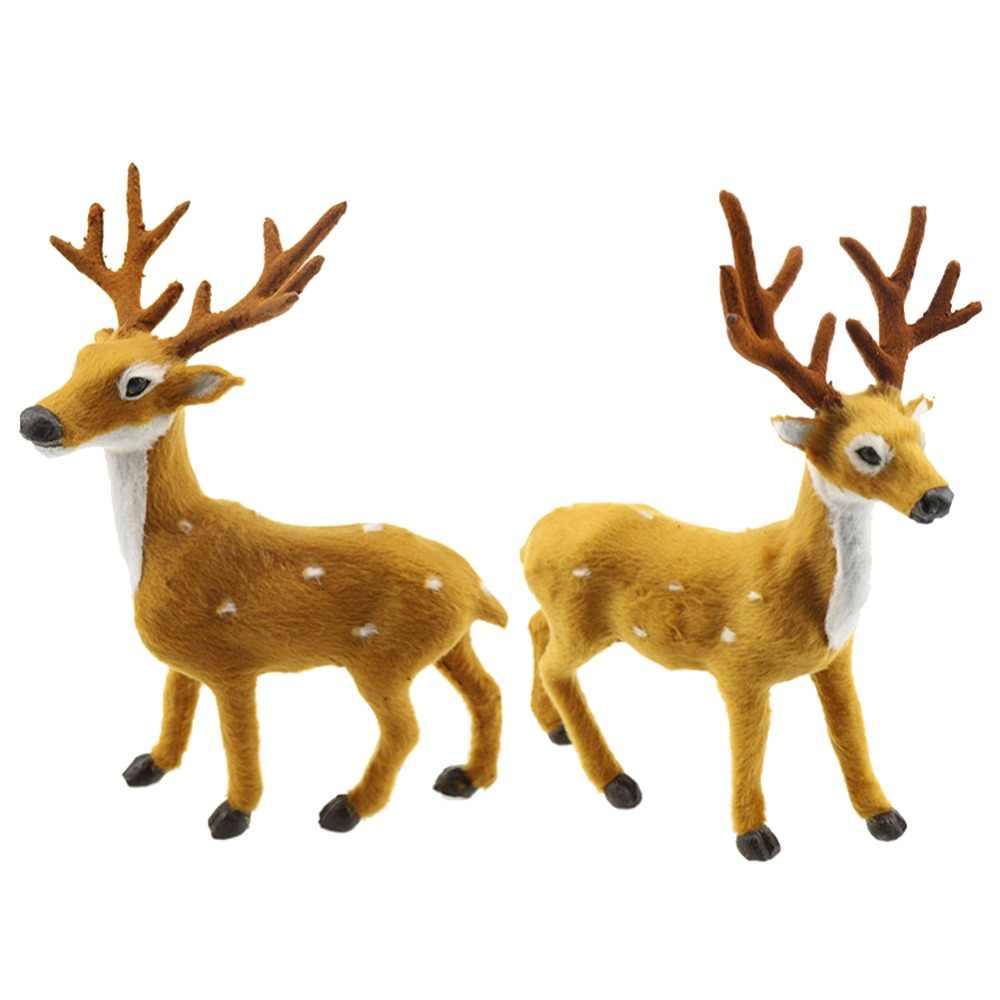 Hot Sale 2019 20/25/30 cm Ornamento de Suspensão Bonito Bonecas de Brinquedo Veado Alces Natal Decoração Árvore Chtistmas animais de pelúcia Crianças Presentes #254249