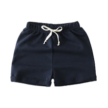 boys girls colorful font b shorts b font summer fashion cotton trousers boys beach font b