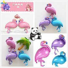 89*69cm Flamingo Foil Balloons Party Supplies foil Children Creative Toys Inflatable Helium Balloon Birthday Wedding