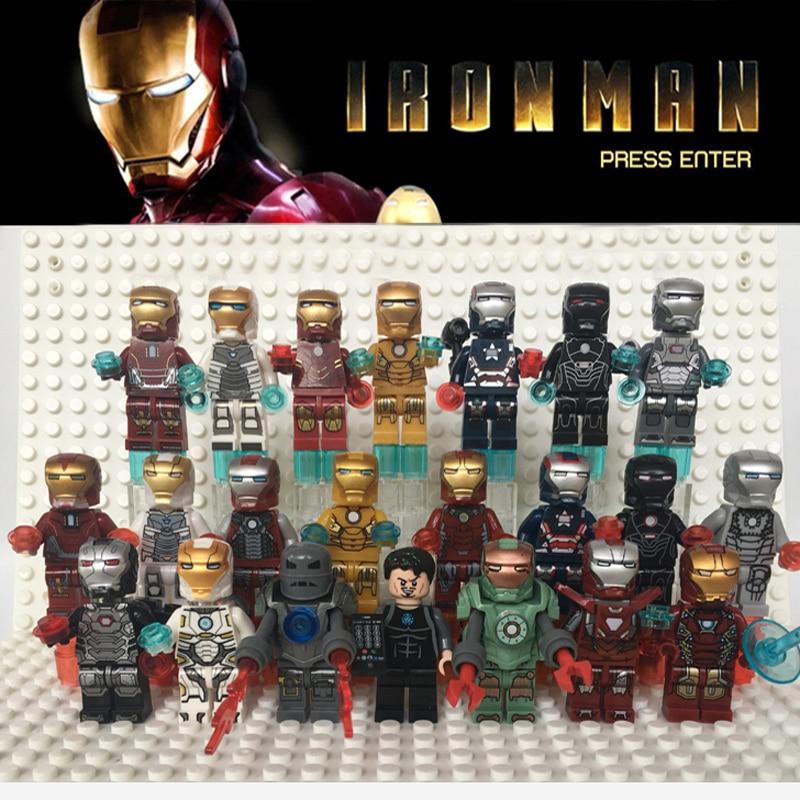 Comicfiguren Spielzeug War Machine Minifigures Kompatibel Lego Marvel Avengers Endgame New 149