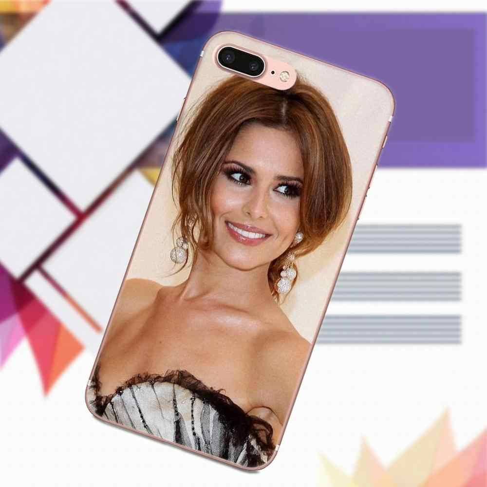 Vvcqod Soft TPU Phone Case Skin Cover For Sony Xperia Z Z1 Z2 Z3 Z4 Z5 compact Mini Premium M2 M4 M5 T3 E3 E5 XA Cheryl Cole