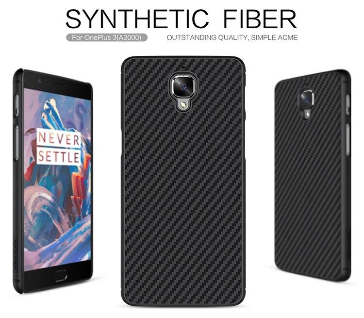 Цена за Для Oneplus 3 Oneplus 3 Т один плюс 3 3 Т Стильный Синтетические волокно + PP Роскошные Жесткий Задняя крышка Роскошный Случай Мобильного Телефона
