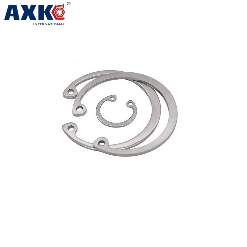 Fasteners & Hooks M58 M60 M62 M65 Black Carbon Steel Mn65 Washer Din471 C Type Snap Retaining Ring For 58mm 60mm 62mm 65mm External Shaft Circlip