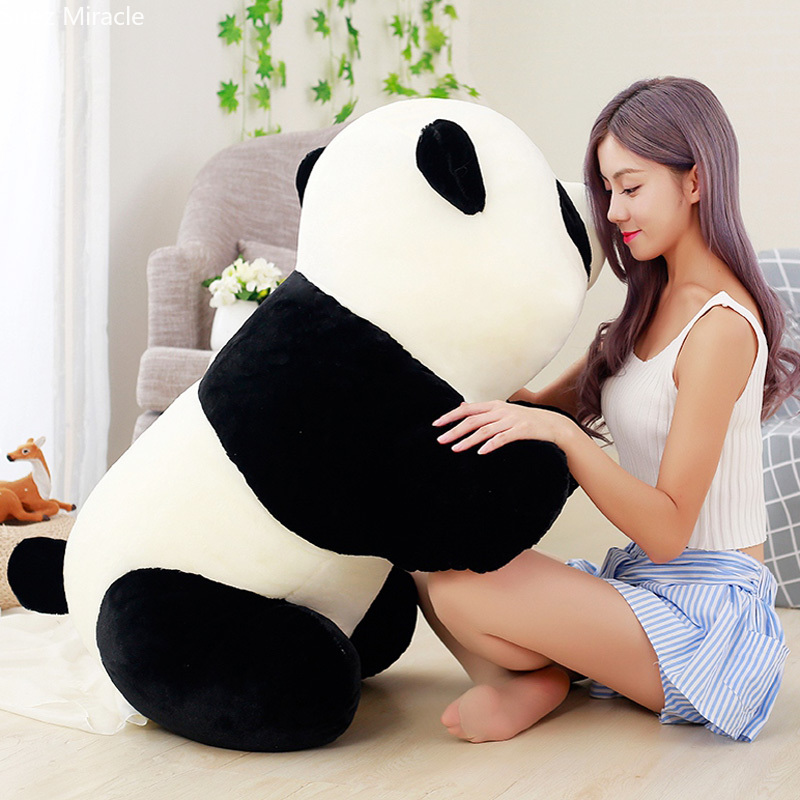 Huge size Cute Big Giant Panda Bear Plush Toy Stuffed Animals Doll Cartoon Kawaii Dolls Girls Gifts KnuffelsHuge size Cute Big Giant Panda Bear Plush Toy Stuffed Animals Doll Cartoon Kawaii Dolls Girls Gifts Knuffels