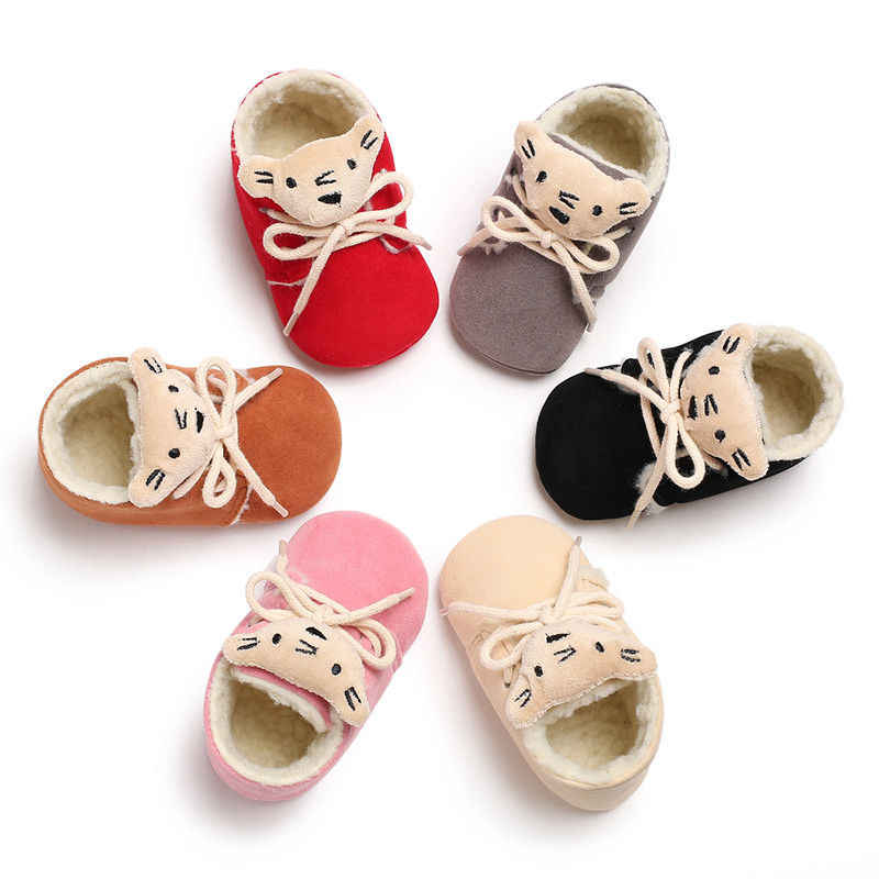0d6206021 Newborn Infant Baby Girls Boys Winter Autumn Cute Pretty Baby Cribs Shoes  Boots 6 Colors Cartoon