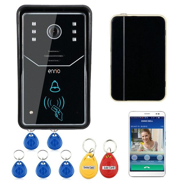 Ennio Touch Key Wifi Doorbell Wireless Video Door Phone Home