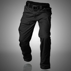 Image 3 - MEGE 2018City Tactical Cargo Pants Men Combat SWAT Army Military Pants Cotton Multi pocket Stretch Flexible Man Casual Trousers