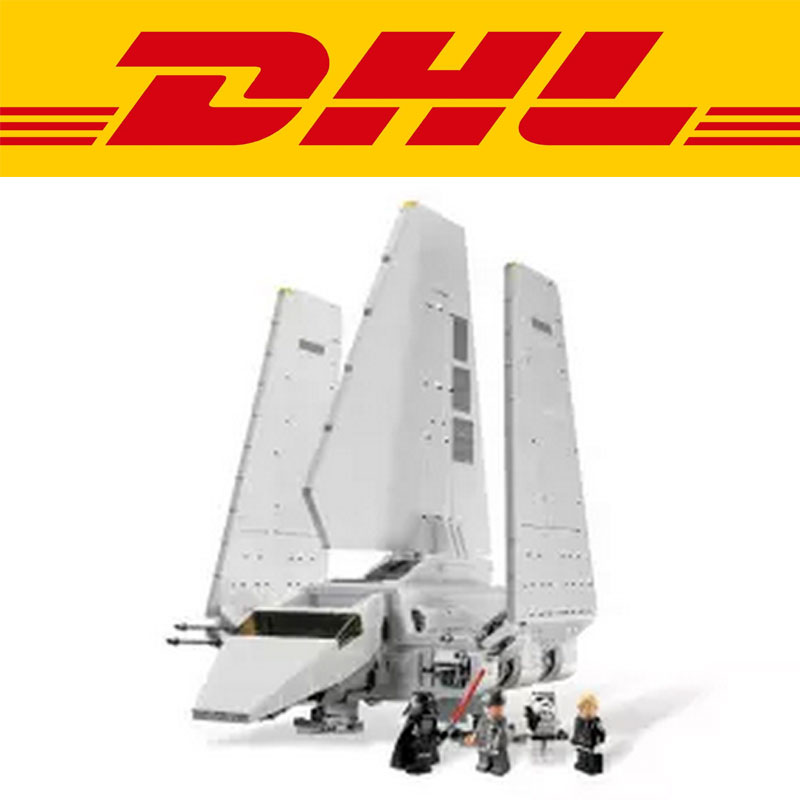 New 2503Pcs LEPIN 05034 Star War Series The Imperial Shuttle Building Blocks Bricks Assembled Toys Compatible with 10212 Gifts lepin 22001 pirates series the imperial war ship model building kits blocks bricks toys gifts for kids 1717pcs compatible 10210