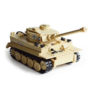 HUIQIBAO 995 шт., военный, немецкий, King Tiger Tank, строительный блок, танк, солдатский, фигурка, кирпичи, обучающие игрушки для детей