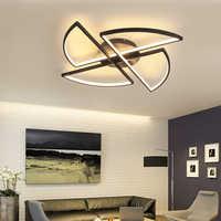 LICAN люстра освещение для гостиной спальни домашний декор черный современный светодиодный потолочный люстры украшения для домашнего декора...