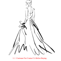 custom make evening dress prom gown