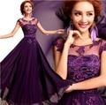 2015 новые марка женщины лето кружевном платье vestidos де феста лонго/Пят-Линии плюс размер женской одежды S-XXXL