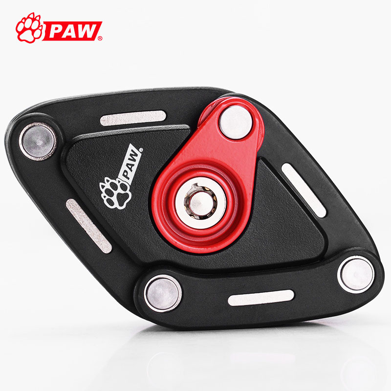 PAW 2018 New Foldable Bike Lock With 2 Keys Strong Security Anti theft Bicycle Lock Alloy