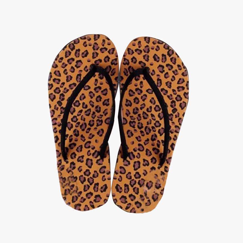 Moda feminina flip flops Casaul fresco das mulheres das senhoras do deslizador da praia ao ar livre casuais plana sandália