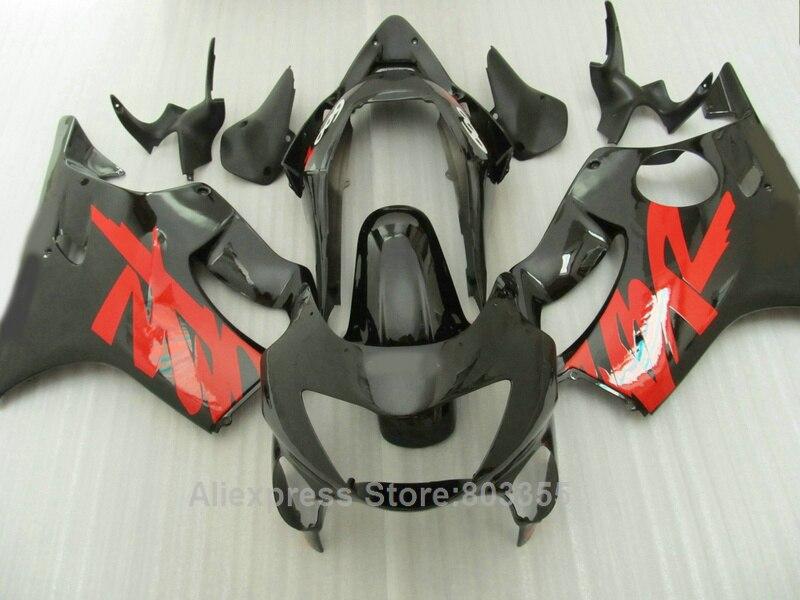 Carenature Per Honda CBR 600 f4 1999 2000 99 00 (rosso + nero) cbr600 Stampaggio Ad Iniezione carena kit xl83