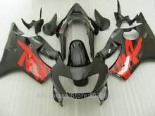 Обтекатели для Honda CBR 600 F4 1999 2000 99 00 (красный + черный) CBR600 литья под давлением комплект обтекателей xl83