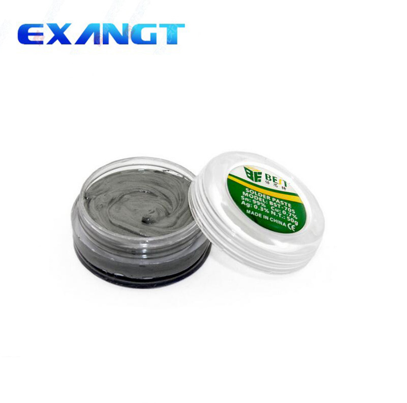 BST-705 50g Lead Free Solder Paste Strong Adhesive Silver Tin Welding Flux For PCB Mortherboard Repair