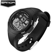 SANDA Luxury Brand Fashion Children Watches LED Digital Watch Boy Girl Student Multifunctional Waterproof Wristwatches For Kids