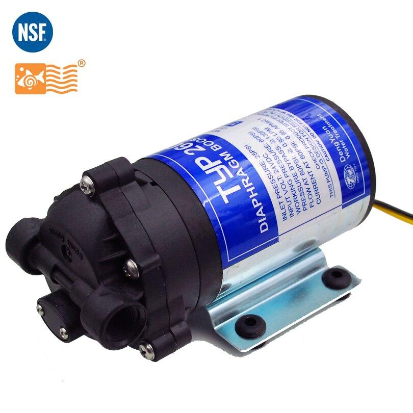 Coronwater 100gpd Filtre À Eau RO Booster Pompe pour Augmenter la Pression Système D'osmose Inverse