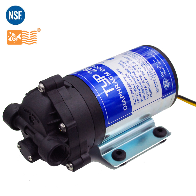 Coronwater 100gpd Water Filter RO Booster Pump for Increase Reverse Osmosis System Pressure coronwater water filter booster pump