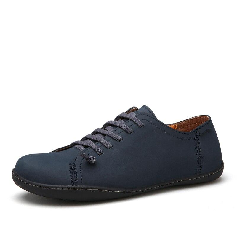 vmuksan new 2017 mens shoes split leather s flats