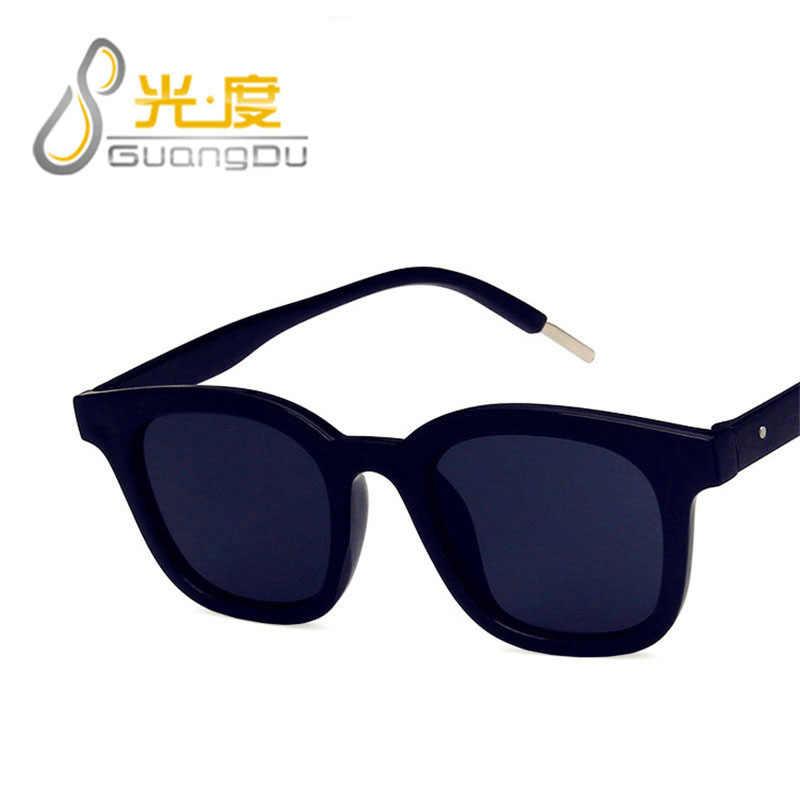 GUANGDU Fashion Large Frame Square Cat Eye Oculos Goggles Sunglasses Women Brand Designer Classic Colorful Casual Glasses UV400