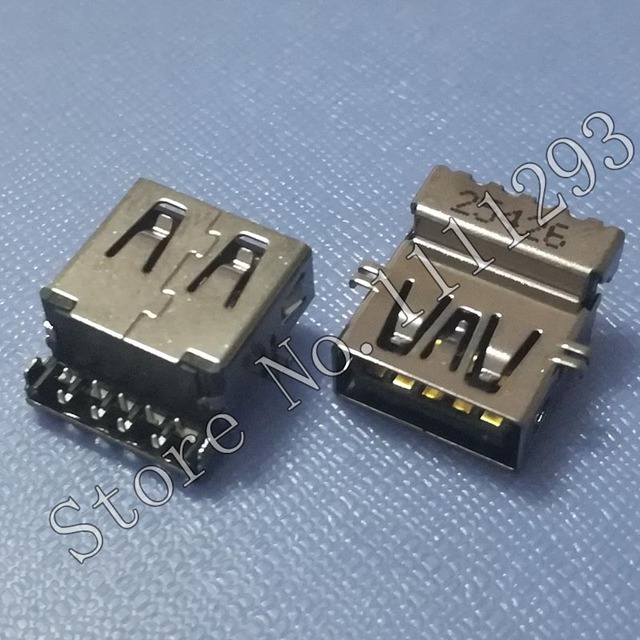 US $13 0 |10pcs/lot 3 0 USB Jack Socket Connector for Lenovo ThinkPad T440  T440s T450 T450s T460 etc USB3 0 port-in Connectors from Lights & Lighting