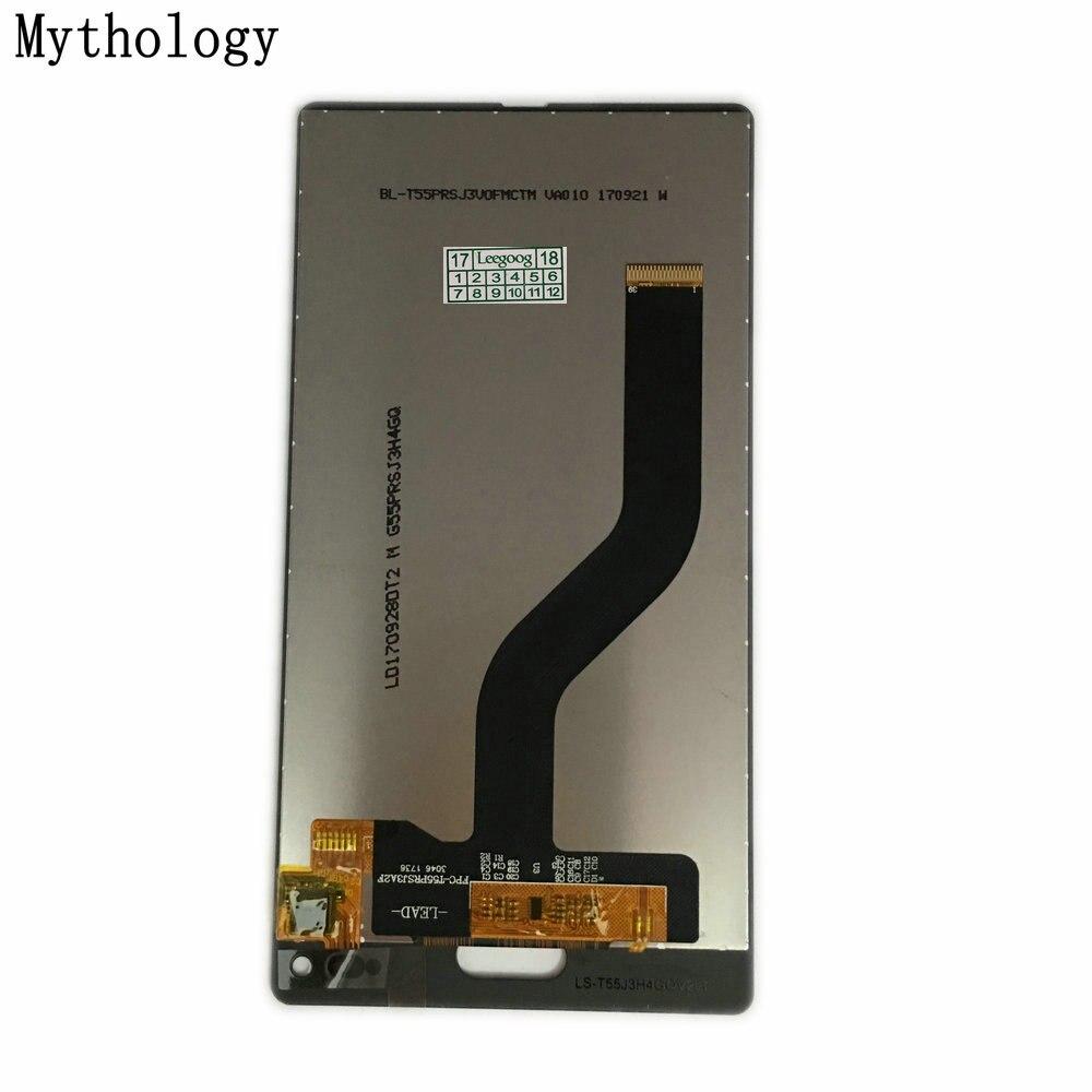 Mitología pantalla táctil para Ulefone Mix 5,5 pulgadas MTK6750T Octa Core Android 7,0 teléfono móvil Panel táctil LCD Stock