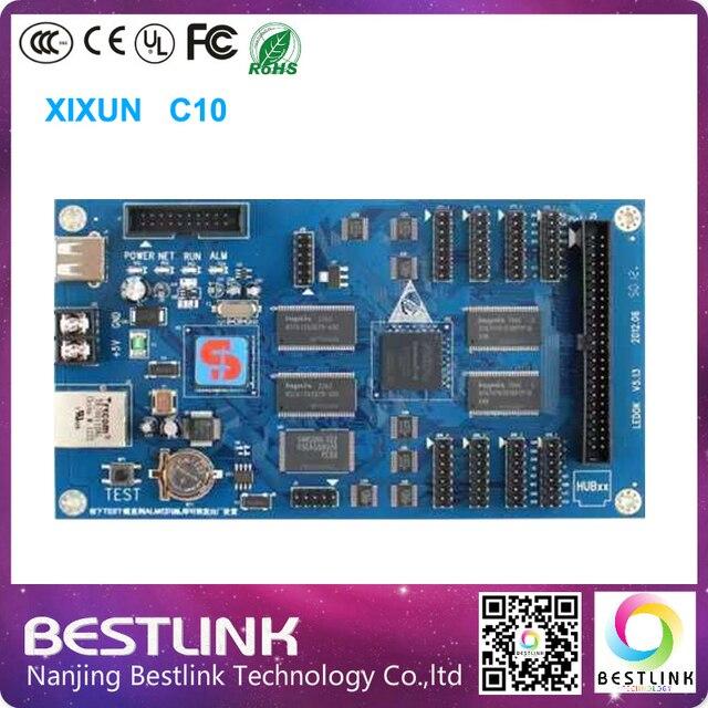 Xixun с10 полноцветный асинхронный гамма из светодиодов управления 1024 * 64 пикселей из светодиодов экран на открытом воздухе из светодиодов видеостены рекламный щит
