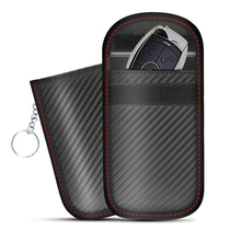 2019 RFID Signal Blocking Bag Cover Signal Blocker Case Faraday Cage Pouch For Keyless Car Keys Radiation Protection Cell Phone недорого