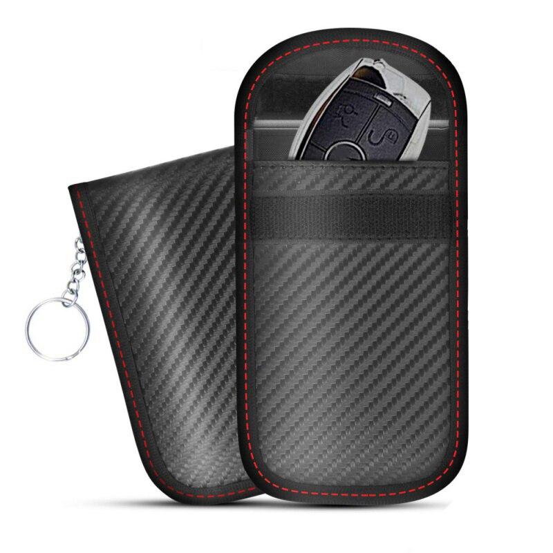 2019 RFID Signal bloquant sac couverture Signal bloqueur boîtier Faraday Cage pochette pour clés de voiture sans clé radioprotection téléphone portable