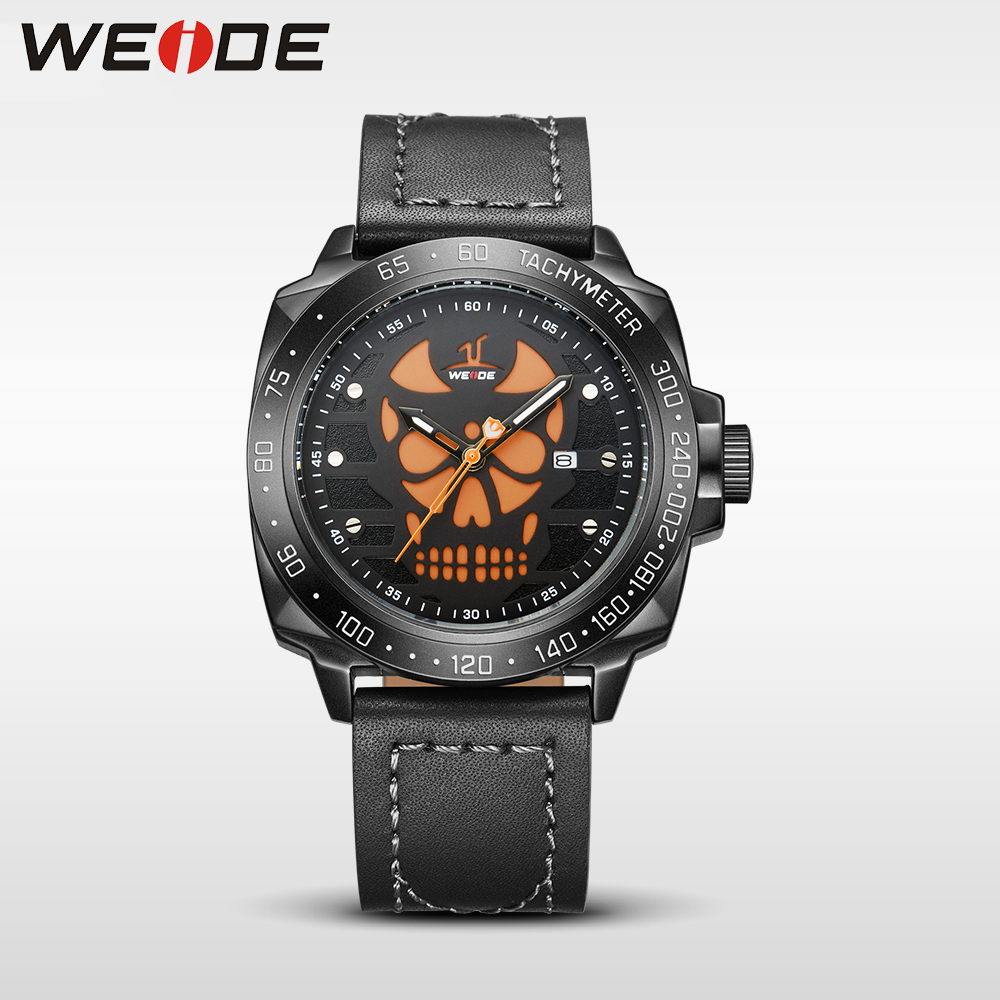 WEIDE Brand Sport Watch  Men Quartz Wristwatch Water Resistant Analog Display Leather Strap Relogio Masculino  eletronicos watch weide japan quartz watch men luxury brand leather strap stainless steel buckle waterproof new relogio masculino sport wristwatch