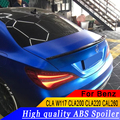 Для Mercedes Benz CLA W117 CLA200 CLA220 CAL260 2013 до 2018 высокое качество обтекаемые Спойлеры спойлер на задний багажник  крыло