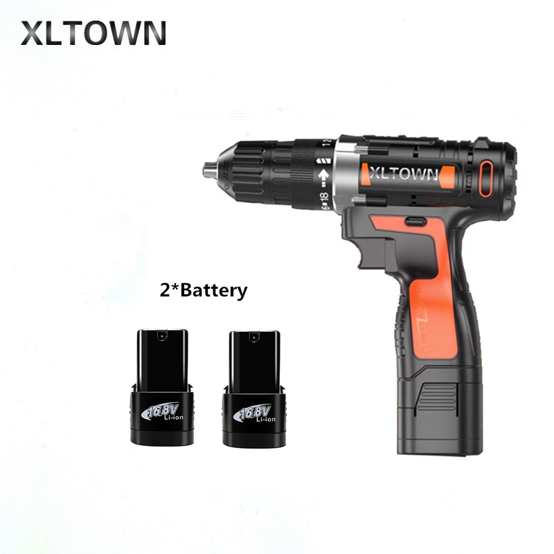 все цены на Xltown the new 16.8v Cordless Mini Electric Drill Multi-energy lithium battery Rechargeable electric screwdriver power tools онлайн