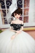 1PC Ballet Dress Lace Party Dress for  40-50cn Xinyi Doll 1/4 BJD SD Doll Suit Fashion Doll Accessories for Toy Gift For Girl