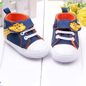 Toddler Shoes Canvas Infant Baby Boys First-Walker Anti-Slip Soft-Sole Giraffe Newest