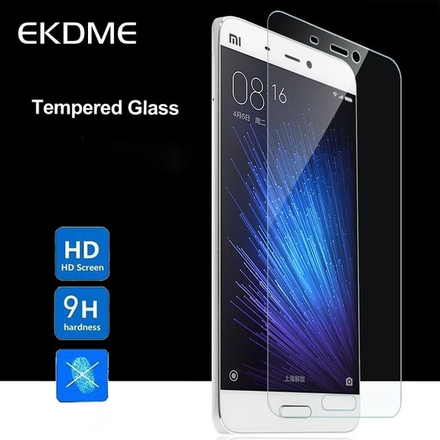 EKDME Protector Glass For Xiaomi Mi3 Mi4 Mi5 Mi6 Mi2s Mi4c Mi4s Glass Tempered Cover For Xiaomi Mi5 Pro Note Pro Protective Film