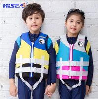 Hisea Neoprene Child Life Vest Jacket Lifejacket Toddler Baby Boys Girls Youth Float Swimming Buoyancy Device
